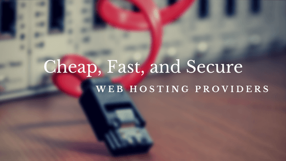cheap fast secure web hosting