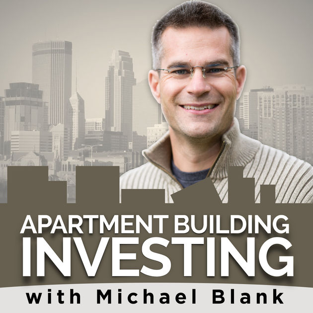 Apartment Building Investing with Michael Blank podcast logo