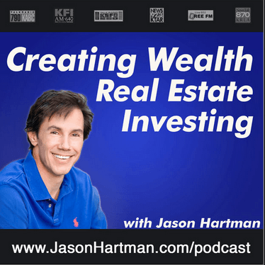 Creating Wealth Real Estate Investing with Jason Hartman logo podcast