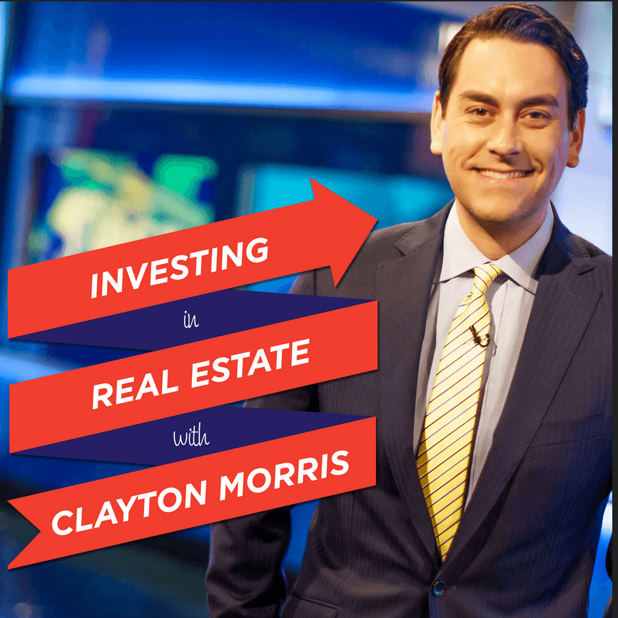 Investing in real estate with Clayton Morris logo