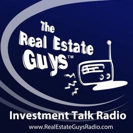 the real estate guys radio show podcast logo