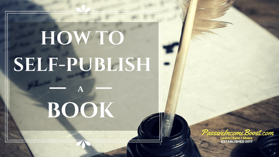 self-publish a book