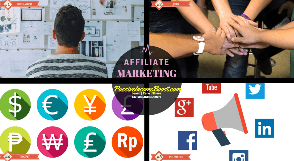 become an online affiliate